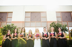 Wedding Planner for thes lovely bridesmaids Torrey Pines Hilton