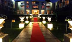 Gorgeous Aisle At Night - wedding coordinator - Torrey Pines