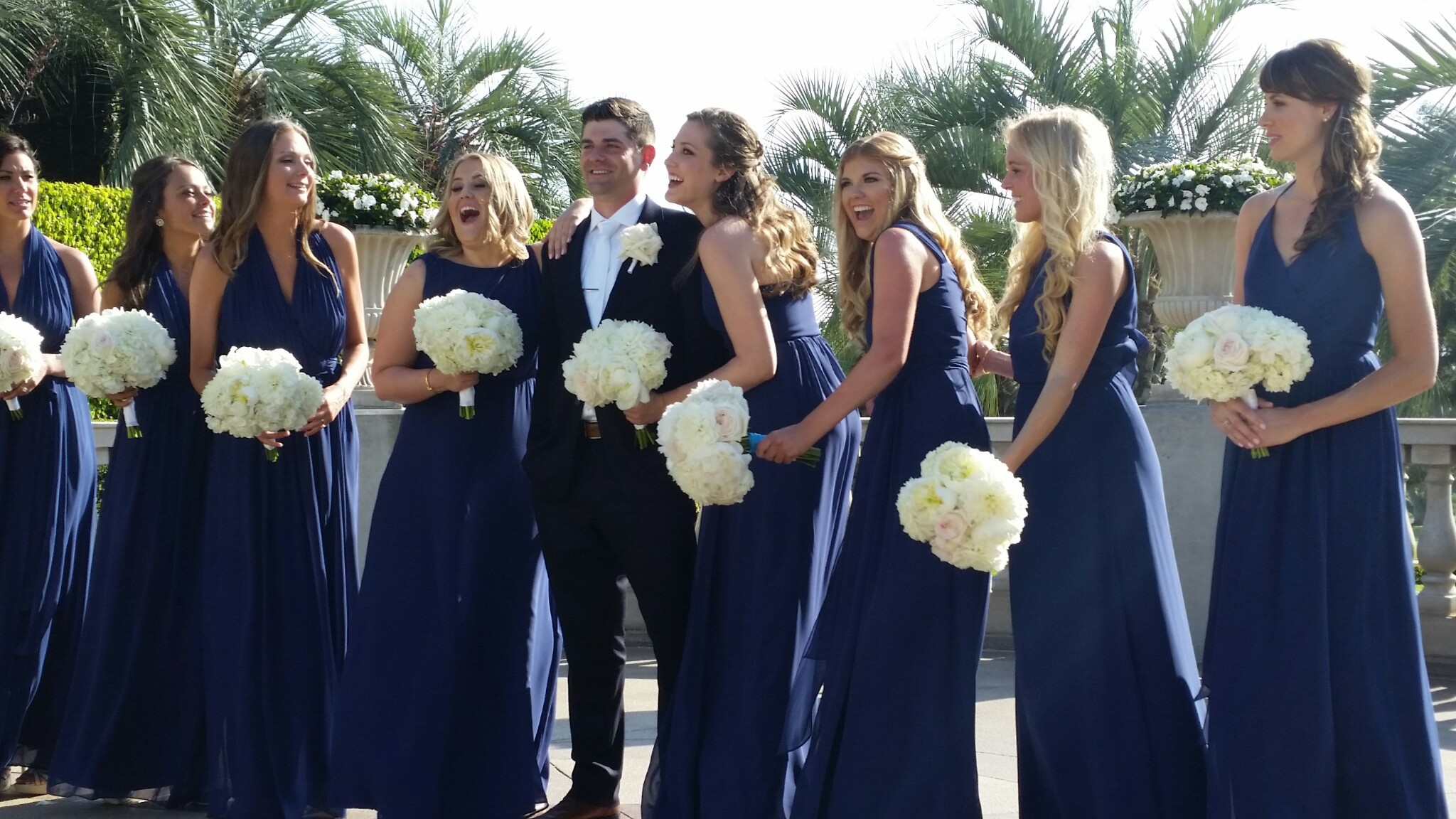 Bridal Party Fun! Torrey PInes HIlton San Diego Wedding Planner