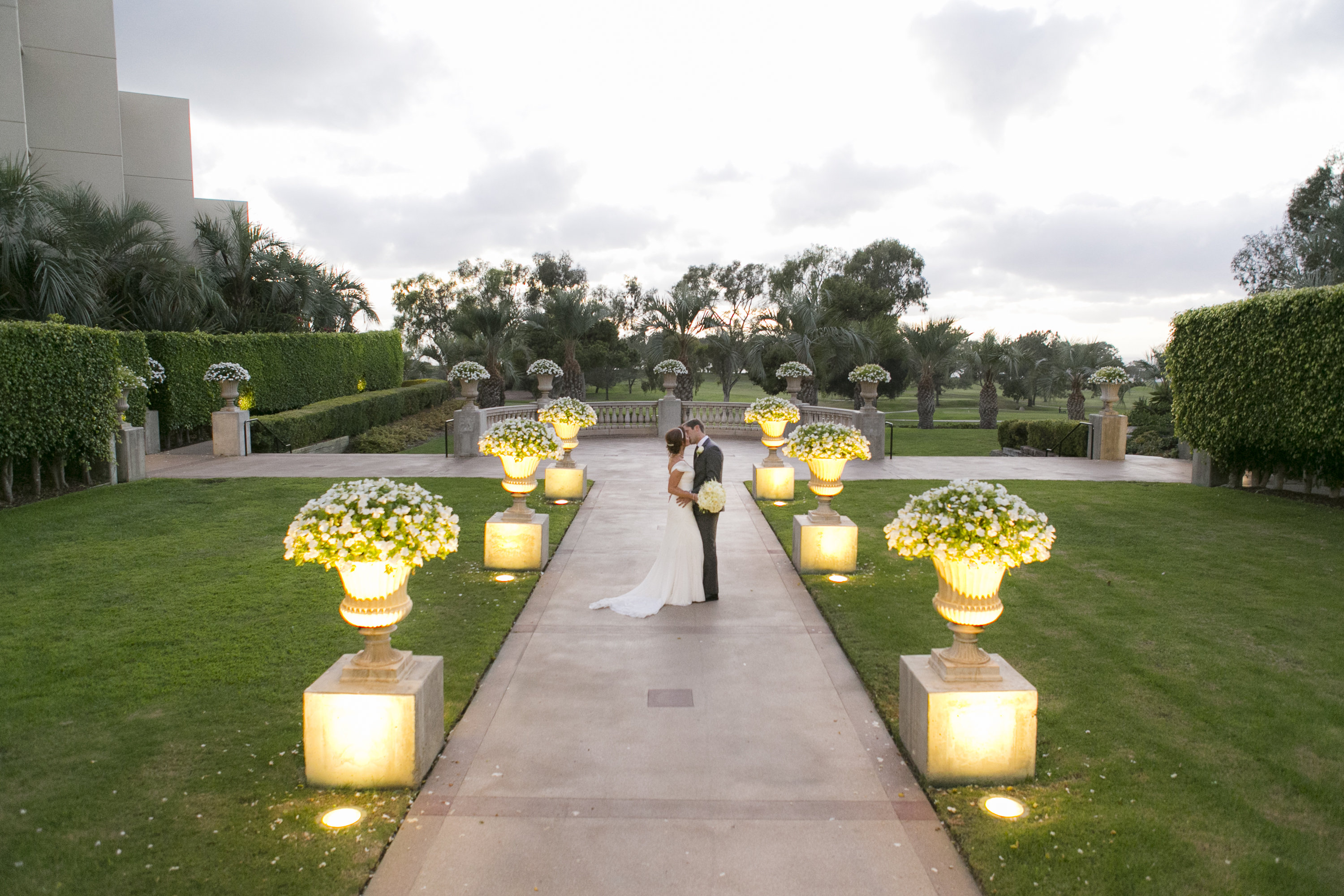 Gorgeous Ceremony Site At Torrey Pines San Diego Wedding PLanner