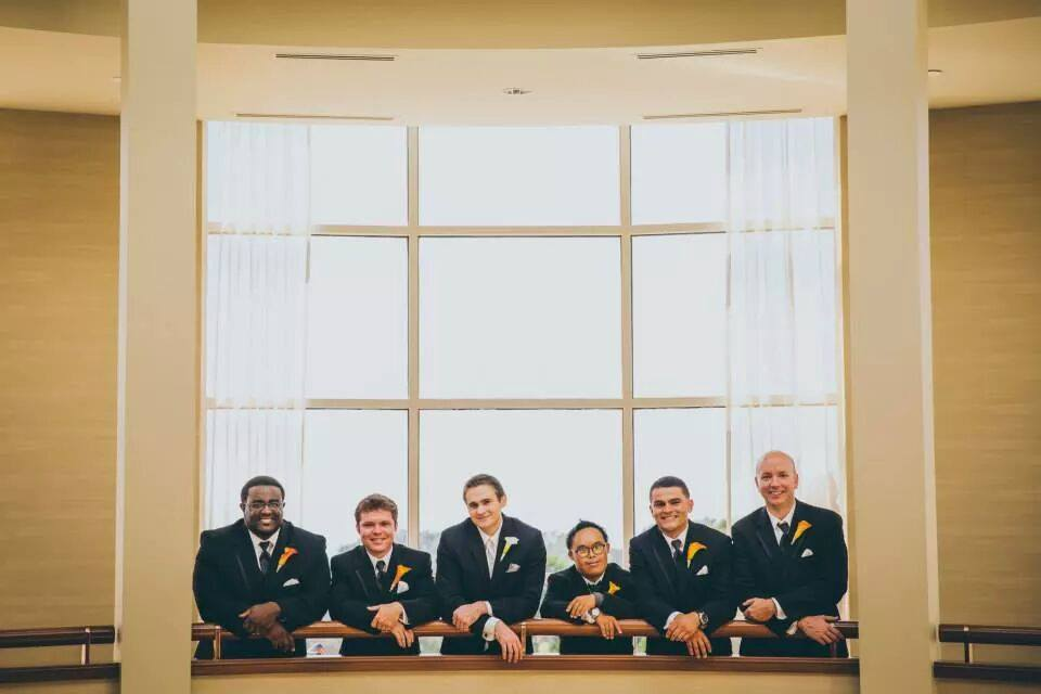 Day of coordinator La Jolla wedding Planner Groomsmen
