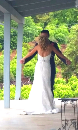 Lovely First Look - Estate wedding - In The Moment Event Service wedding coordination_edited