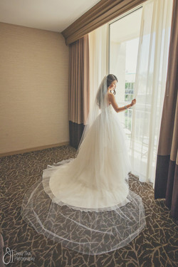 Beautiful Bride Day Of Wedding Coordinator San Diego