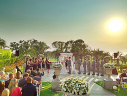 gorgeous ceremony site and wedding coordination Torrey Pines Hilton