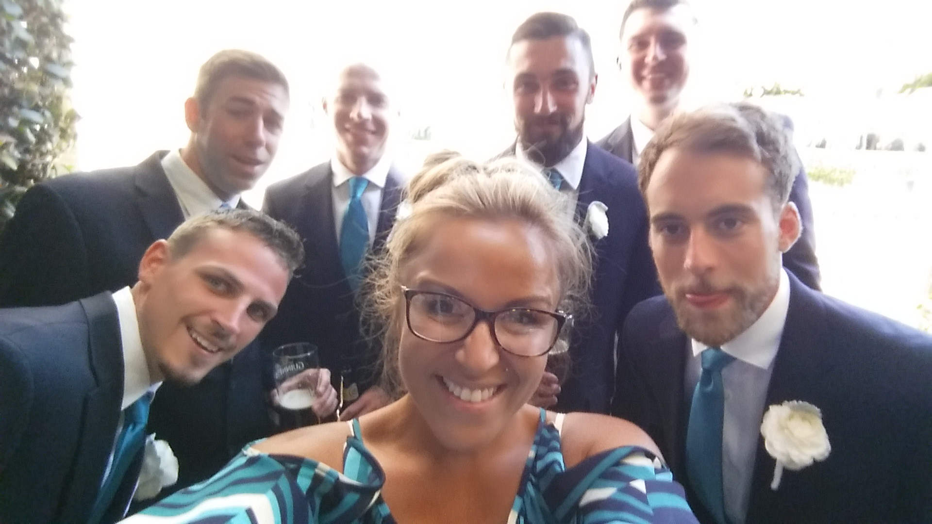 Coordinator _ Groomsmen Selfie - In The Moment Events - San Diego weddings