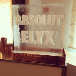 Absolut Elyx Chipping Block