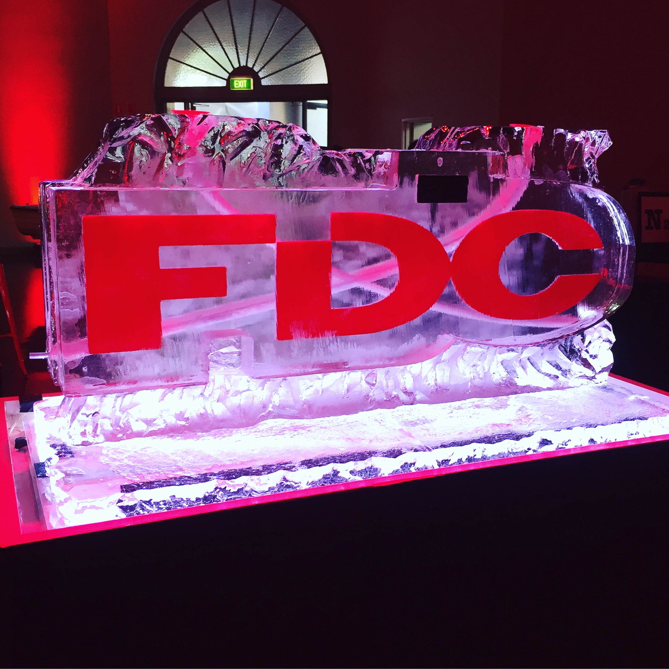 Coloured FDC Luge