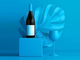 Abstract Wine Bottle Shoot