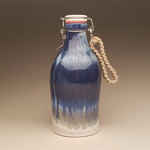 64 oz Growler: Starry Midnight Blue