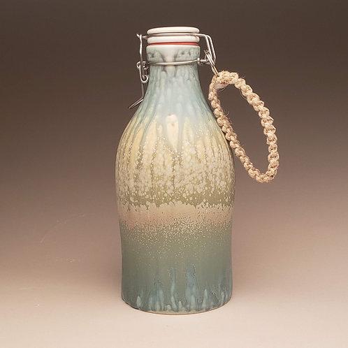 64 oz Growler: Laura's Turquoise