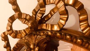 Repair gilded pieces