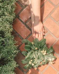 """""""I've tried to think about it a lot! But I love nature, I have a bunch of plants. I think the path that I've been going in, I end up growing in different aspects. I can only imagine that being reciprocated visually through nature.""""  """"I believe life is a simulation.""""  