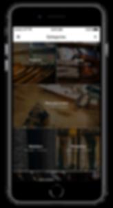 Apparl Categories Screen