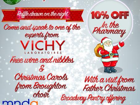 Christmas event details