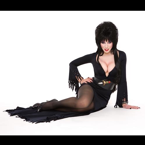 Autographed April Elvira 8x10