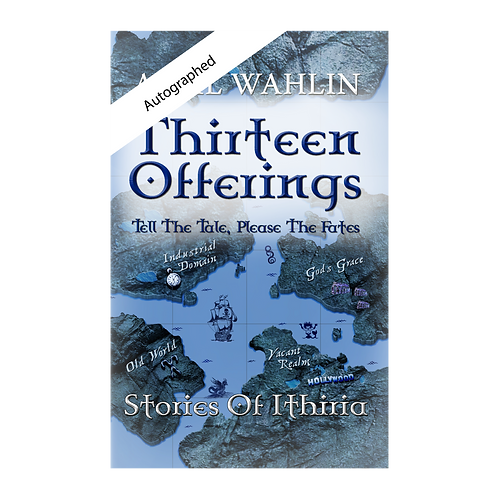 Thirteen Offerings Autographed Front Cover