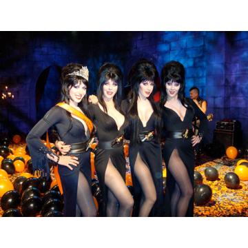 Autographed Photo of April Elvira & Contestants