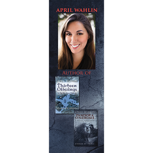 April Wahlin Bookmark