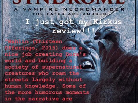 Kirkus Review for 'Pandora Syndrome'
