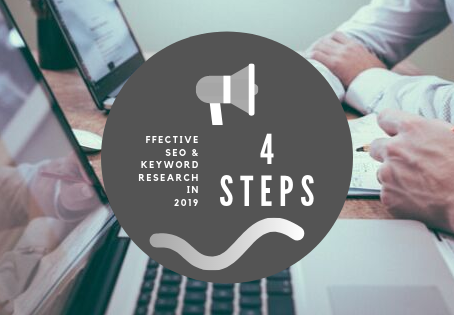 4 Steps for effective SEO and Keyword research 2019