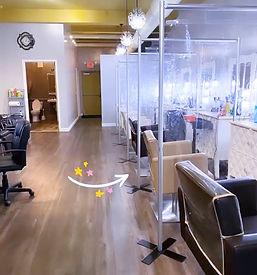 Interior photo Salon Sapphire by Sabrina