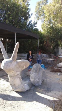 פסל סביבתי באילון