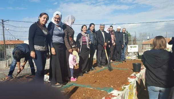 אנשי הקהילה שותפים לפרויקט