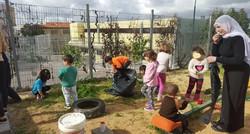 פרויקט קהילתי - מקימים גינת ירק בן הילדים
