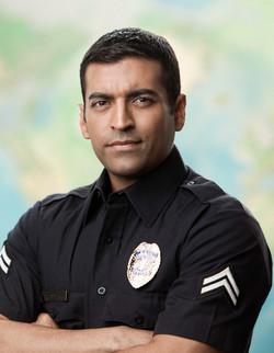 Policeman Dark Hair