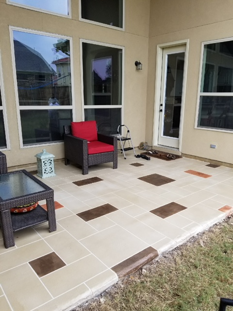 Stamped Concrete III