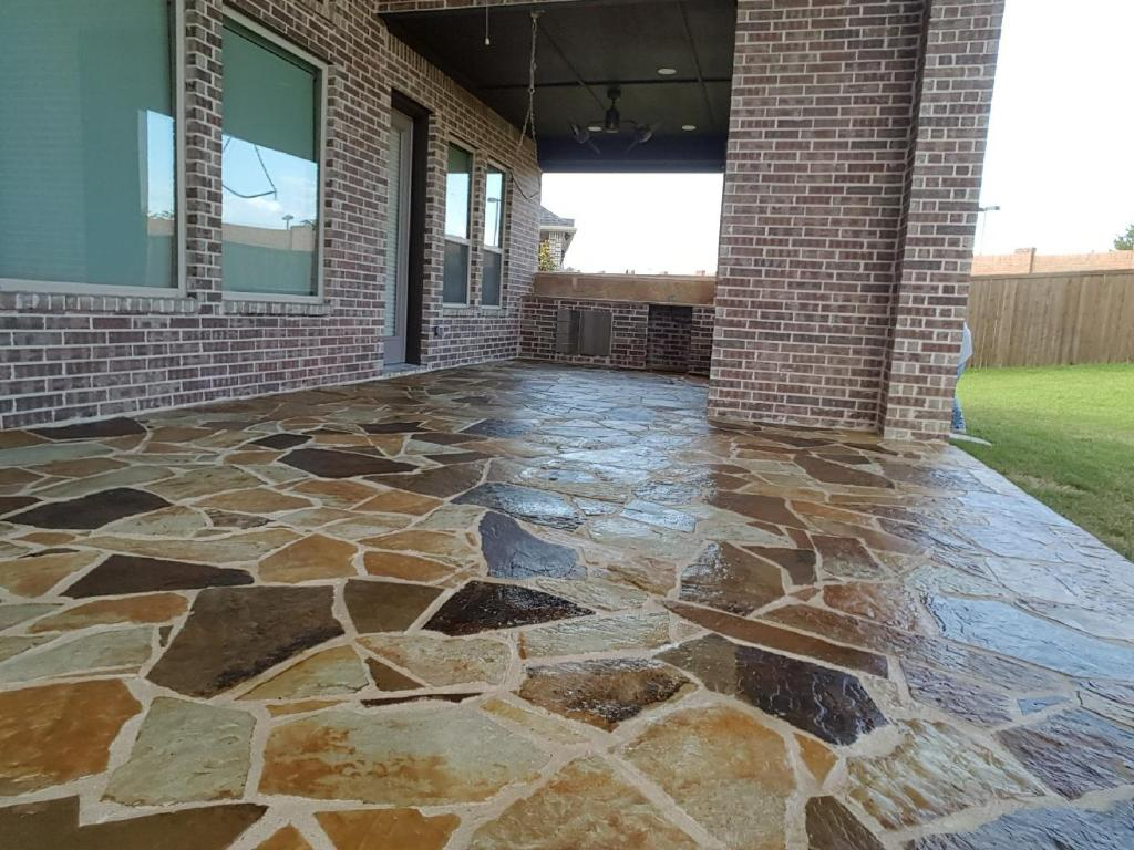 Flagstone Sealed