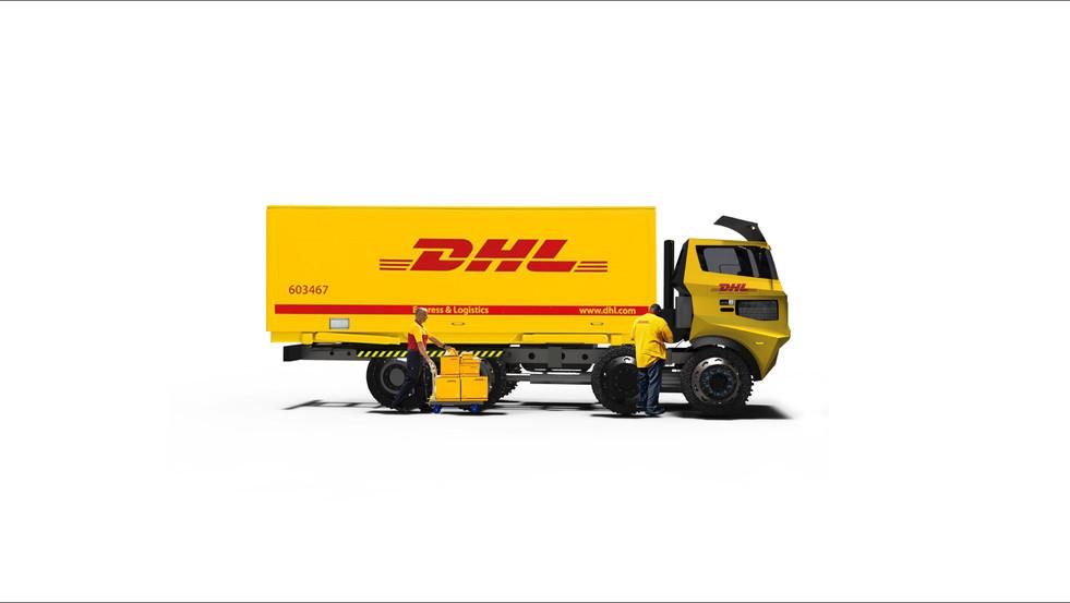 DHL Truck Design