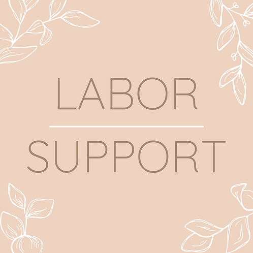 Labor Support Package (paid in full)