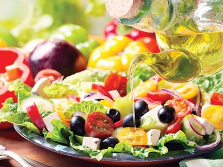 Dieta Mediterrânea, sabor e saúde.