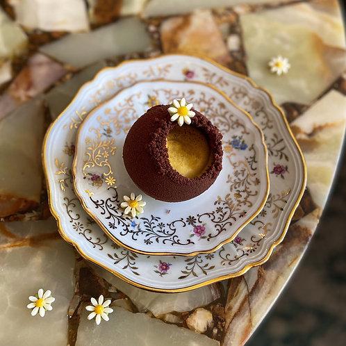 Chocolade Bol met Mango & Passievrucht