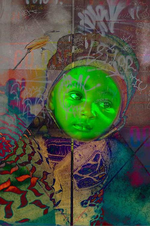 Green Boeddha - Alex van der Lecq