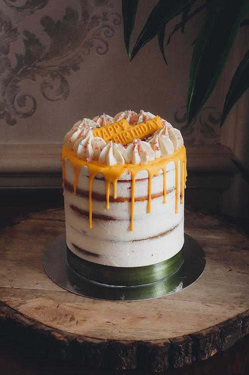 Rainbow Birthday Cake