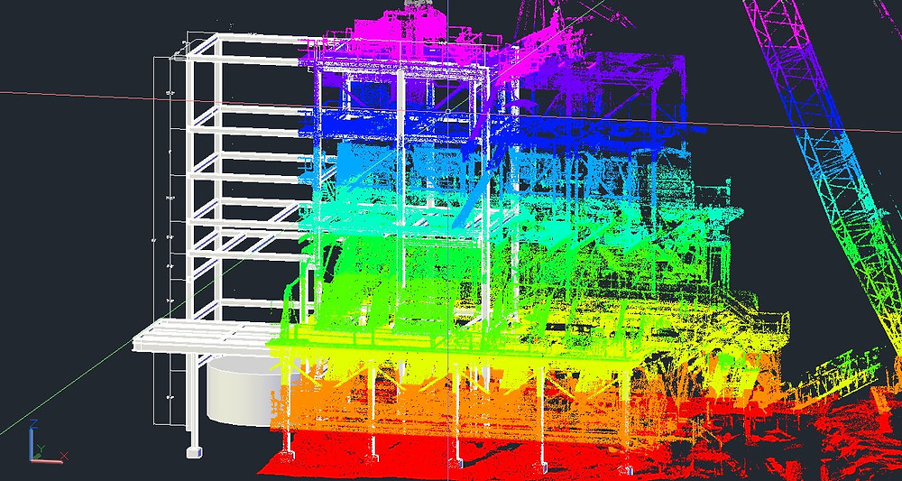 3D Laser Scanning and modeling by SurvTech Solutions