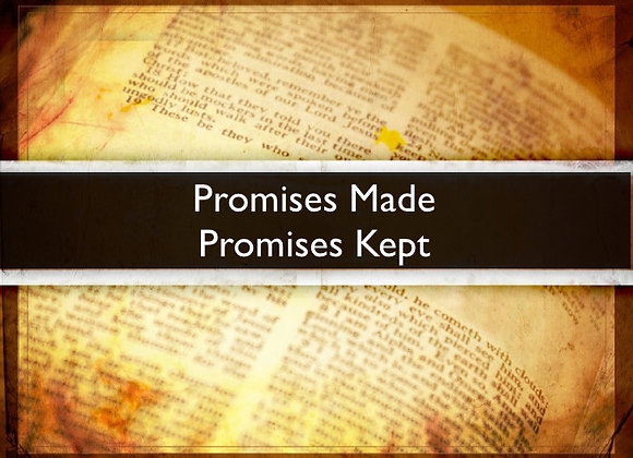 """The Path Sabbath Lesson: """"Omer, A Promise is a Promise"""""""