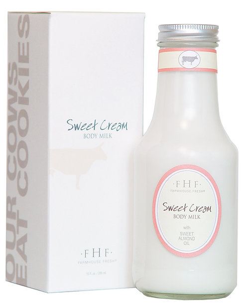 Sweet Cream Body Milk - Twist Top Jug
