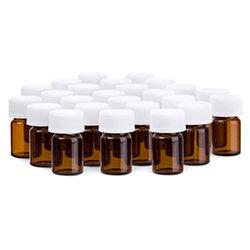 Essential Oil Sample Bottles 25 pk