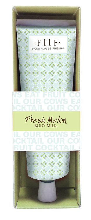 Fresh Melon Body Milk - Travel Tube