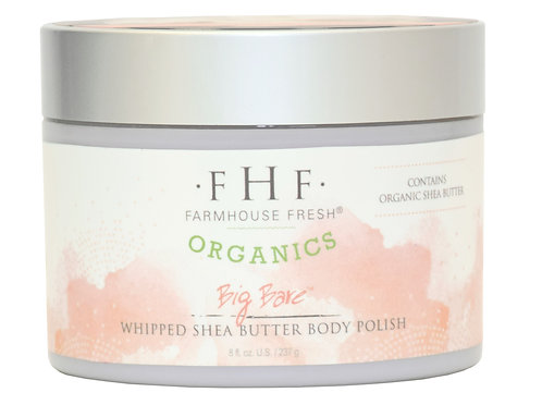 Big Bare Whipped Shea Butter Body Polish - Organics