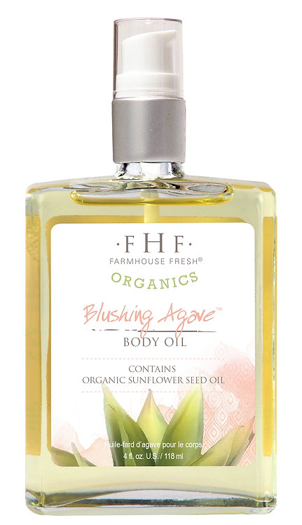 Blushing Agave Body Oil - Organics