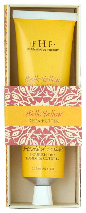 Hello Yellow Shea Butter Hand Cream Tubes
