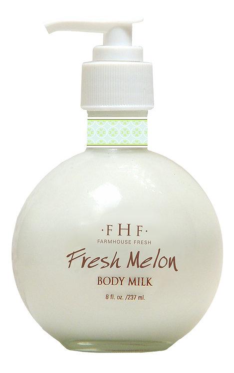 Fresh Melon Body Milk - Pump Top