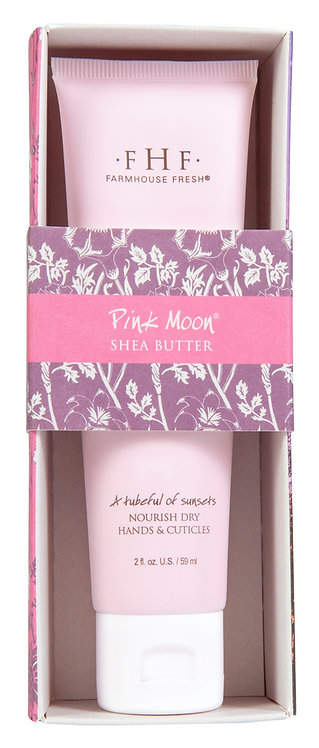 Pink Moon Shea Butter Hand Cream Tubes