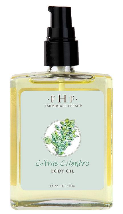 Citrus Cilantro Body Oil