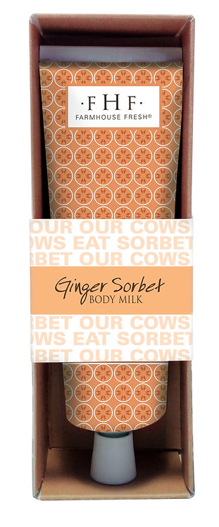 Ginger Sorbet Body Milk - Travel Tube