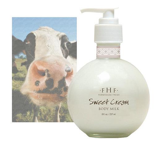 Sweet Cream Body Milk - Pump Top